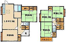 [一戸建] 兵庫県神戸市西区今寺 の賃貸【/】の間取り