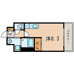 アスヴェル兵庫駅前[7階]の間取り
