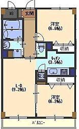 Grand toit(グラン トワ)[402号室号室]の間取り