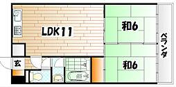 アスティ−別院[2階]の間取り