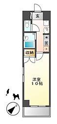 ステラ新栄[4階]の間取り