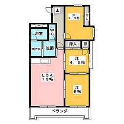 長谷川ビル[7階]の間取り