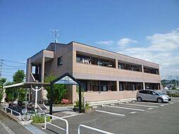 福岡県飯塚市太郎丸の賃貸アパートの外観
