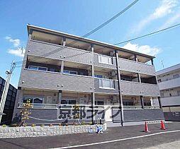京都府京都市右京区西京極中町の賃貸アパートの外観