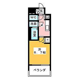 メインステージ名古屋 ノースマーク[6階]の間取り
