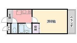 エスペラント久寿川[305号室]の間取り