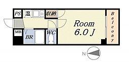 シーサイドヴィラ五番館[6階]の間取り