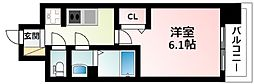 Osaka Metro御堂筋線 東三国駅 徒歩12分の賃貸マンション 8階1Kの間取り