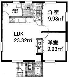 [一戸建] 千葉県長生郡一宮町新地 の賃貸【/】の間取り