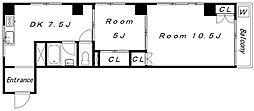 サン中野マンション(1774)[302号室]の間取り