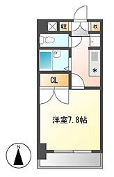 シャンポール大須[3階]の間取り