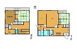 [一戸建] 神奈川県川崎市麻生区上麻生2丁目 の賃貸【/】の間取り