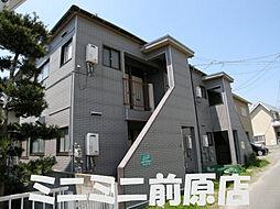 福岡県糸島市篠原西1丁目の賃貸アパートの外観