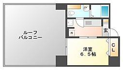 オリエンタル江坂[12階]の間取り