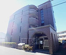 大阪府枚方市北山の賃貸マンションの外観
