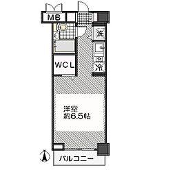 東京都江戸川区南葛西6の賃貸マンションの間取り