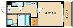 兵庫県尼崎市神田南通2丁目の賃貸マンションの間取り