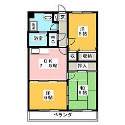エポック[1階]の間取り