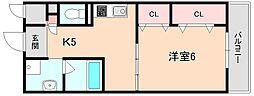 Mid village 妙[303号室]の間取り
