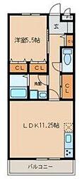 Auberge Nagoya[3階]の間取り