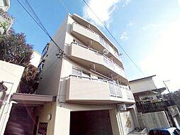 兵庫県神戸市東灘区住吉台の賃貸マンションの外観