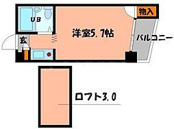 メゾンサンクチュアリー守口[3階]の間取り