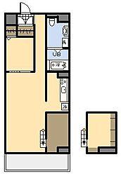 (新築)AKH K[4階]の間取り
