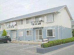 岡山県岡山市南区福成1丁目の賃貸アパートの外観