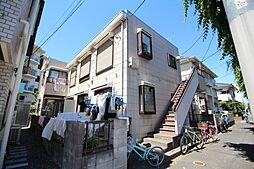 東京都清瀬市竹丘1丁目の賃貸アパートの外観