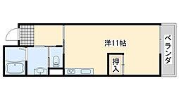 みらいハウス[202号室]の間取り