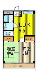 ビュープラザ斉藤I[3階]の間取り