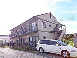 長野県長野市中越2丁目の賃貸アパートの外観