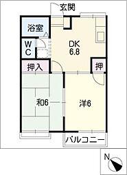 ジョイフル丹羽[2階]の間取り