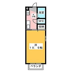 秘密基地[2階]の間取り
