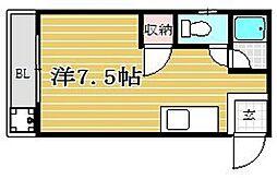 ピナクル77[102号室]の間取り