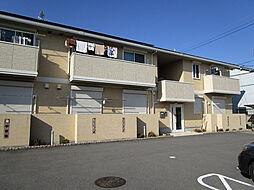 大阪府八尾市老原5丁目の賃貸アパートの外観