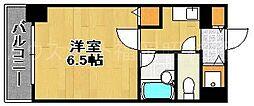 ヴィラ大濠[7階]の間取り