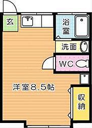 Chambre(シャンブル)[2階]の間取り