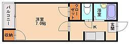 ドリームパレス井尻九番館[2階]の間取り