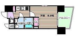 レグゼスタ福島II[11階]の間取り