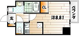 Studie KOKURA[2階]の間取り