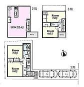 建物プラン例 建物面積 117.58m2 駐車スペース 2台