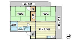 日山マンション[1-3号室]の間取り