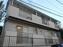 神奈川県横浜市港北区箕輪町1丁目の賃貸アパートの外観
