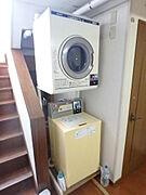 洗濯機と乾燥機もあります。