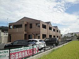 愛媛県伊予市本郡の賃貸アパートの外観