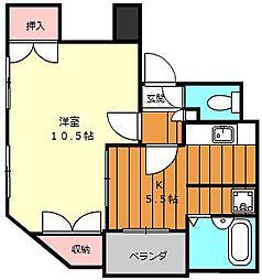 堺フェニックス[205号室]の間取り
