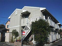 大阪府茨木市沢良宜浜3丁目の賃貸アパートの外観