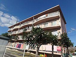 秋山ハイツ B棟[4階]の外観