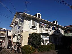 東京都小平市花小金井7丁目の賃貸アパートの外観